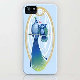Feathered Love iPhone Case