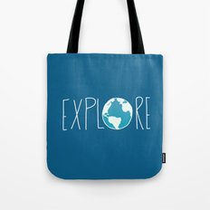 Explore the Globe Tote Bag