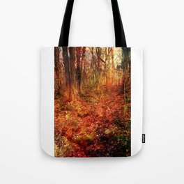 Forest poetry Tote Bag