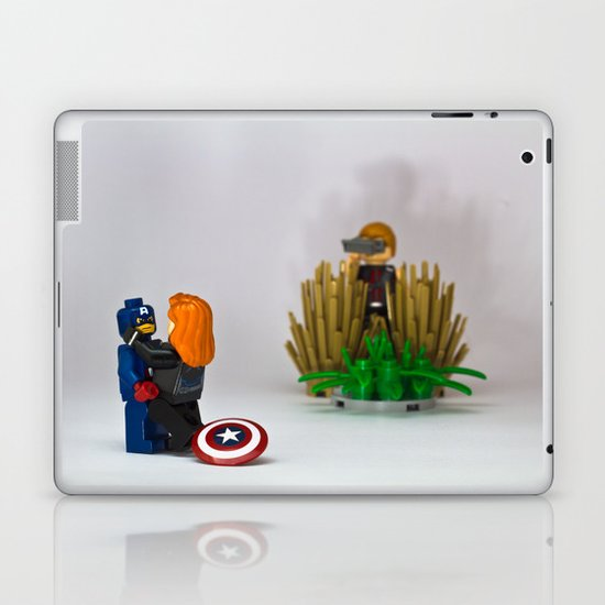 Hawkeye the creeper Laptop & iPad Skin