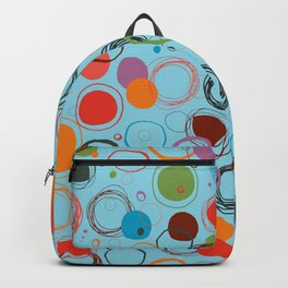 squiggles & circles Backpack