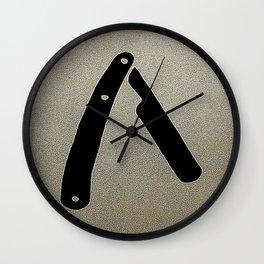Razor Wall Clock