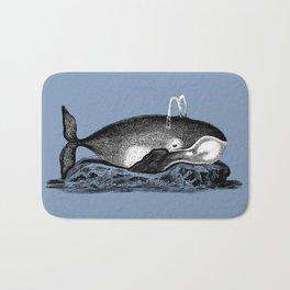 Ink Whale Bath Mat