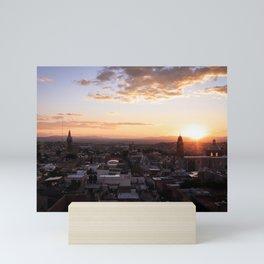 San Miguel de Allende at Sunset : Heart of Mexico Mini Art Print