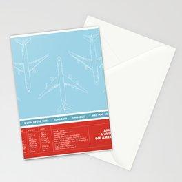 America aviation Stationery Cards