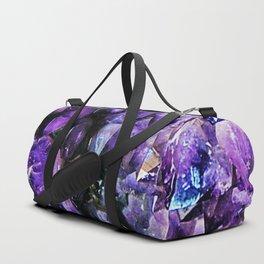 Amethyst Geode Duffle Bag