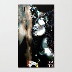 Art Robot Illustration Canvas Print
