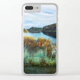 Idyllic - Rotoehu Clear iPhone Case