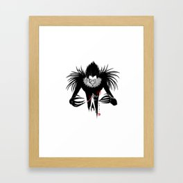 Shinigami Framed Art Print