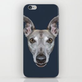 Whippet // Navy (Vespa) iPhone Skin