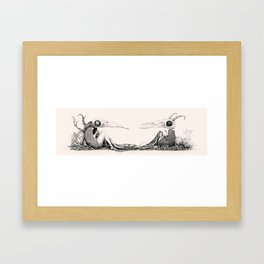 Between You And Me Framed Art Print
