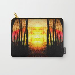 Path To Imagination Golden Carry-All Pouch
