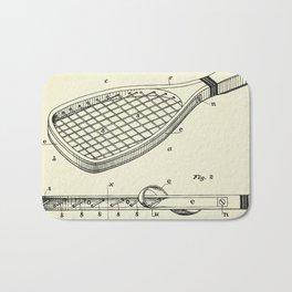Construction of Tennis Rackets-1887 Bath Mat