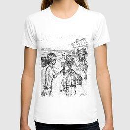 interview russian farmer T-shirt