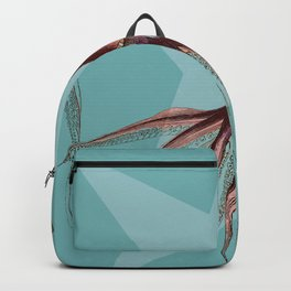 Giant Squid Star Geometric Under The Sea Cottage Colorful Backpack
