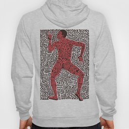 Into 84 after Keith Haring Hoody