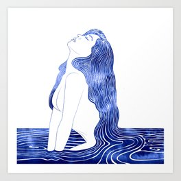Nereid XXIII Art Print