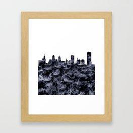 Buffalo Skyline Framed Art Print