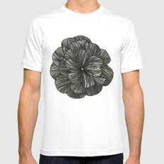 FLOR MEDIUM Mens Fitted Tee White