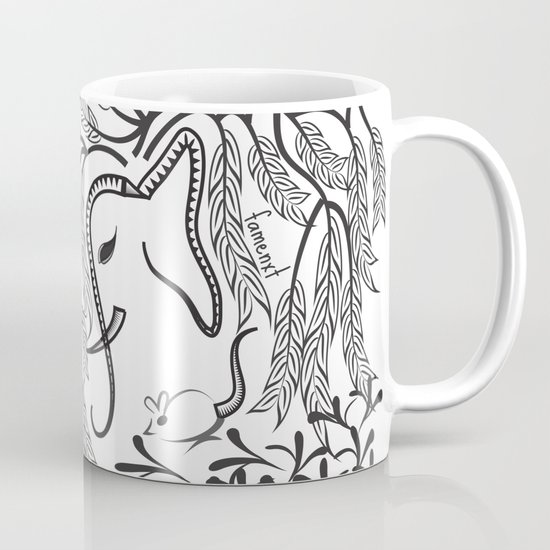 Jungle Ele Coffee Mug