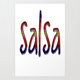 Salsa Little P Art Print