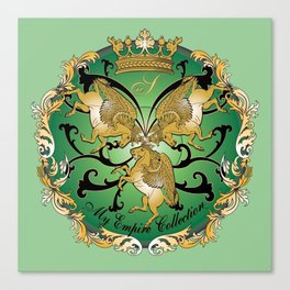 My Empire Collection Summer Set mint green Canvas Print