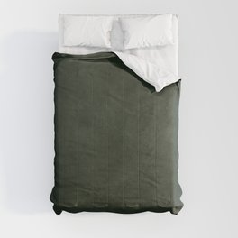 Dark green distressed vintage antique exclusive look solid color Comforters