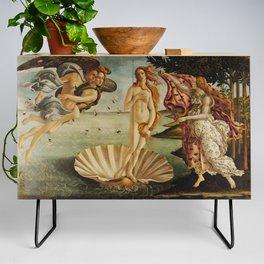 The Birth of Venus by Sandro Botticelli Credenza
