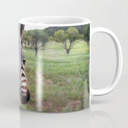 Profile of a Zebra  Coffee Mug