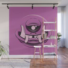Purple Wall Mural