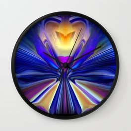 Butterfly Promise Wall Clock