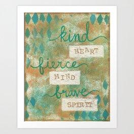 Kind Heart... Art Print