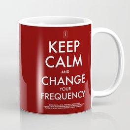 FREQUENCIES KEEP CALM POSTER Coffee Mug