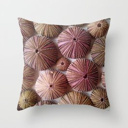 Purple People Eaters Throw Pillow