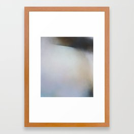 New Salt - Abstract landscape painting art Framed Art Print