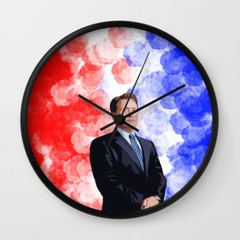 Jed Bartlet 2 Wall Clock
