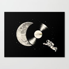 Tha Dark Side of the Moon Canvas Print