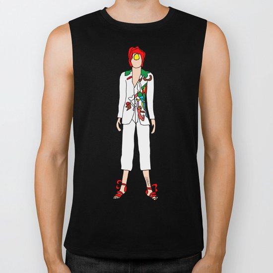Bowie Fashion 7 Biker Tank