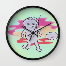 CLOUD BOY Wall Clock