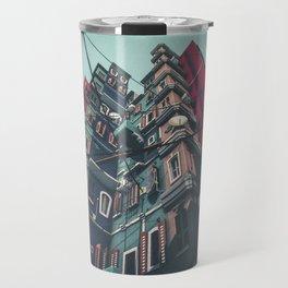 Yard in Inner Town Travel Mug