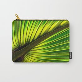 Green Burst Carry-All Pouch