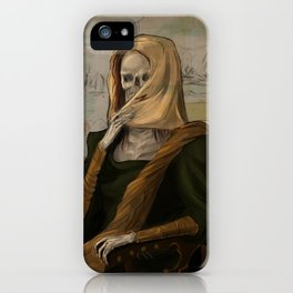 Death like Smile iPhone Case