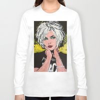 blondie Long Sleeve T-shirts featuring Blondie by Matt Pecson