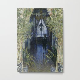 A Corner of the Apartment by Claude Monet, 1875 Metal Print