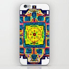 Vishuddha Throat chakra iPhone Skin