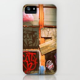 The bored Window iPhone Case