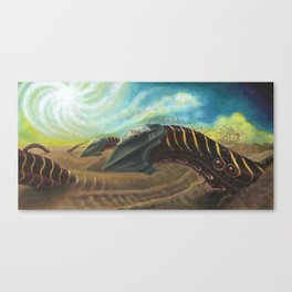 Sandworm Racers - Adam France Canvas Print