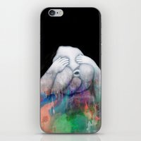 fear iPhone & iPod Skins featuring Fear by Graphic Airlines