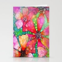 stained glass Stationery Cards featuring Stained Glass by 2dayspic