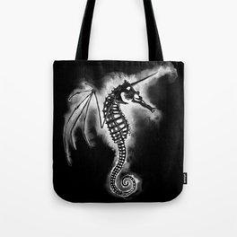 Pegasus of the Sea - inverted Tote Bag